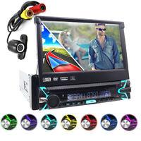 Autoradio Con Navigatore Gps Schermo 7Pollici Touch-Screen Bluetooth Usb 1Din