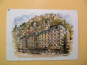 Salzburg Sheraton Hotel Salzburg Austria vintage postcard