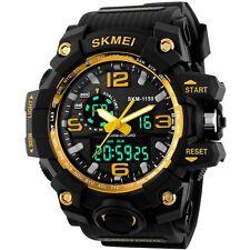 E-futuro SKMEI para hombres 50M Reloj Impermeable Deportivo Analógico Digital Multifuncional