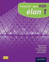 Elan: 1: Pour AQA Student Book by Jones, Marian|Maynard, Gillian|Bourdais, Danie
