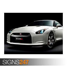 NISSAN GTR NISMO CLUB SPORTS (0718) Car Poster - Poster Print Art A1 A2 A3 A4