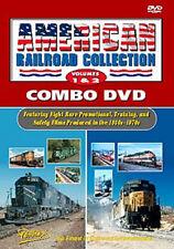 American Railroad Collection Vols 1&2 Combo DVD Pentrex Mopac BN C&NW promos