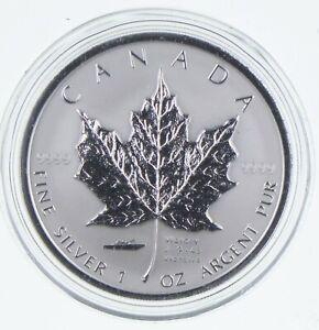 2005 Canada 5 Dollars 1 Oz Silver Maple Leaf Victory Privy Mark World Coins *772