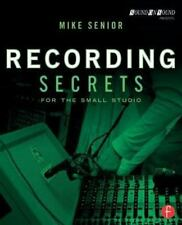 RECORDING SECRETS FOR SMALL STUDIO - REFERENCE BOOK 151728
