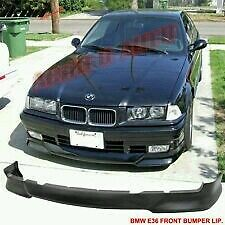 BMW E36 92-98 M-TECH STYLE 318IS 325I FRONT BUMPER SPLITTER LIP PU PLASTIC UK