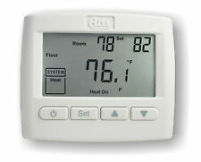 NON-PROGRAMMABLE DIGITAL SLAB SENSING THERMOSTAT FOR HYDRONIC RADIANT FLOOR