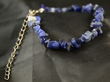 Sodalite Natural Stone Chip Bracelet NSB019