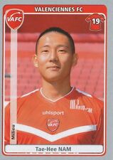 N°495 TAE-HEE NAM # SOUTH KOREA VALENCIENNES.FC STICKER PANINI FOOT 2012