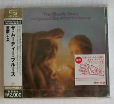 MOODY BLUES - Every Good Boy Deserves Favour + 2 JAPAN SHM CD OBI NEU UICY-91403
