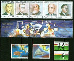 MEXICO-1982-1985-SMALL COLLECTION-VF**