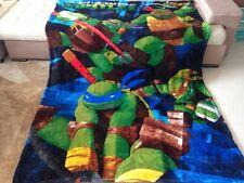X Large Soft Mink Blanket Flannel Fabric Plush Quilt 1.5x2 Meter Turtle TMNT