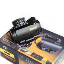 100% US Bushnell Trophy TRS-25 Red Dot Sight Riflescope Holographic 1x25mm Black