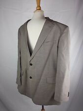 Tommy Hilfiger 44 R Tan Blazer 2 Button Wool Fully Lined Sports Coat