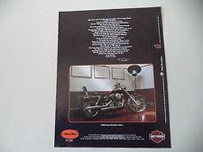 advertising Pubblicità 1993 MOTO HARLEY DAVIDSON FXDWG DYNA WIDE GLIDE 1340