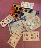 Vintage Button Assortment