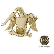 Brass Accents A04-K2000-609 Eagle Door Knocker 5-.87 in. Antique Brass