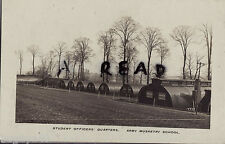 View of Officer Quarters Army Musketry School France Sgt A. Bows RAMC 1918