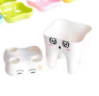 1 stück 4 Loch Zahnbürstenhalter Zahn Stil Halterung Container Kinder Für Bad n