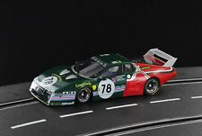 Racer Sideways Ferrari 512BB Gr.5, Le Mans 24hrs 1980 Finish Line slot car SW51B