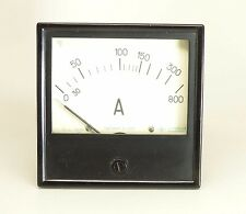 RUSSIAN ANALOG AC 0 - 800 amper panel meter USSR