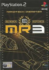 PLAYSTATION 2 MEGARACE 3 NANOTECH DISASTER PS2 GAME