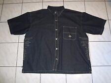 Knockout Sportswear Mens 5X Button Down Denim Jean Jacket 5XL XXXXXL BIG TALL