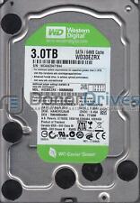 WD30EZRX-00MMMB0, DCM HANCHV2AAB, Western Digital 3TB SATA 3.5 Hard Drive