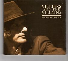 (HG774) Villiers & The Villains, Songs Of Love And Fate - 2015 CD