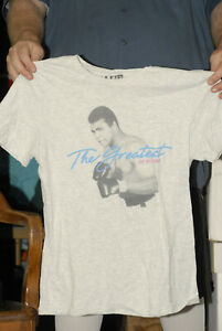 Muhammed Ali brand t shirt Med GOAT Greatest of all Time Boxing Heavyweight