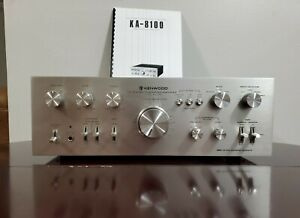 VINTAGE KENWOOD STEREO INTEGRATED AMPLIFIER RECEIVER KA-8100 PRO RESTORED!!!!