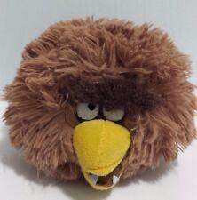 "Angry Birds Star Wars Plush Chewbacca 4.5"" 2012 Brown RARE"