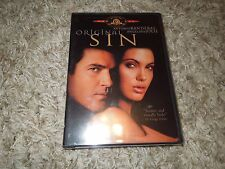 Original Sin (DVD, 2002, R-Rated Theatrical Version) *****BRAND NEW*****