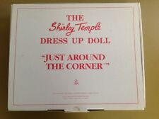 Danbury Mint 1996 Shirley Temple Dress Up Just Around The Corner .Box