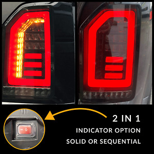 for VW T6 15-20 Transporter Sequential Indicator Tailgate LED Rear Lights Smoked