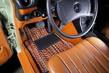 "Mercedes-Benz W123 Custom Car Floor Mats ""Seen on Jay Leno"" CocoMats"