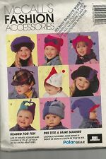 McCall's Pattern 239, Children's Hats, Sizes 19 !/2, 21, 22 inch Head Size