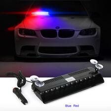 12 LED Emergency Strobe Light Bar Police Flash Visor Deck Dash Lamp Warning 12V