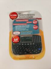Royal Thesaurus Dictionary Translator Speller Rp6S