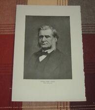 "1911 THOMAS HENRY HUXLEY Known as Charles ""Darwin's Bulldog"" Agnosticism Print"