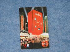 1995 Coca Cola Machine Sprint $3. Phone Card Serial #08000 Collect-A-Card E1575