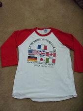 "Reagan Era Crew Neck Long Sleeved T-Shirt ""Le Sommet D'Versailles France 1982"""