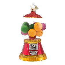 Christopher Radko - Yum Yum Bubblegum - Gumball Candy - Retired Ornament 1016973