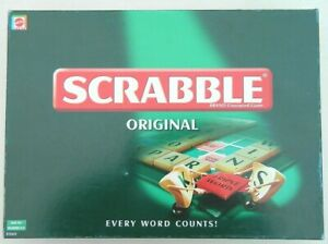 Mattel Scrabble Educational Board Game - (51263) Perfect for Kids Home Educating