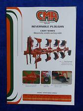 CMA Italien - Reversible Ploughs Light Series - Prospekt Brochure  (0778