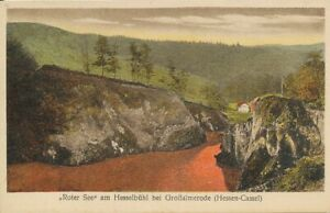 """""""Roter See"""" am Hesselbühl bei Großalmerode ngl 118.525"""