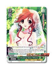 Weiss Schwarz Haruhi x 1 Wedding Dress Mikuru [SY/W08-E107 PR (Promo)] English