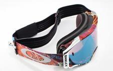 New Oakley Snow Goggles Airbrake MX Jeffrey Herlings Prizm Sapph In Box #7046-53
