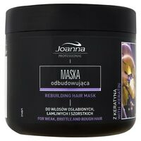 JOANNA PROFESSIONAL REBUILDING HAIR MASK WITH KERATIN FOR WEAK BRITTLE HAIR 500g