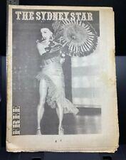 Sydney Star vintage gay LGBT newspaper, vol. 1, no. 26, 1980, Australia