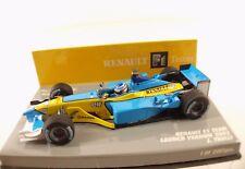 Minichamps Renault F1 Team Launch version #14 J. Trulli 2002 1/43 neuf boite MIB